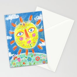 Feel the Sun Stationery Cards