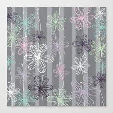 Flower Play Canvas Print
