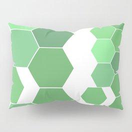 "Hexagon ""die grünen Waben"" Pillow Sham"