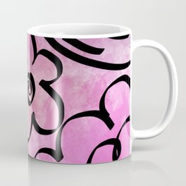 Flower Patch Watercolor Coffee Mug