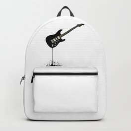 Fluid Black Guitar Backpack