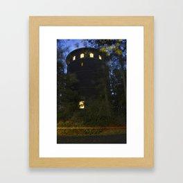 Water Tower in Volunteer Park Framed Art Print