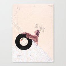 Lace & Vinyl Canvas Print