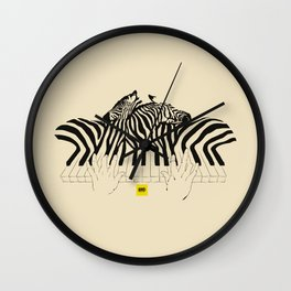 Translated melodies Wall Clock