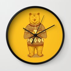Keep Warm Wall Clock