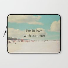 i'm in love with summer Laptop Sleeve