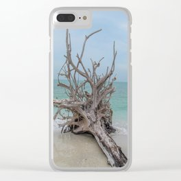 Remember Your Roots Clear iPhone Case
