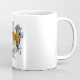 Eagle falcon buzzard bird of prey nature wild animal flying gift idea Coffee Mug