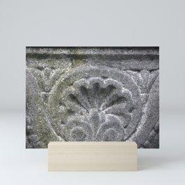 Scalloped Stone Mini Art Print