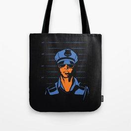 Dirty Cop Mugshot Police Brutality Art Print Tote Bag