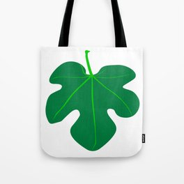 Fig Leaf Tote Bag