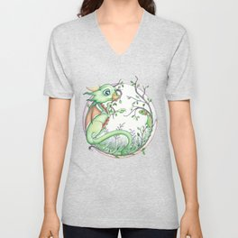 What Are You, And Do You Bite? Unisex V-Neck