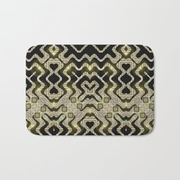 Tribal Gold Glam Bath Mat