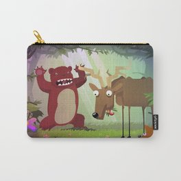 Danger in woods Carry-All Pouch