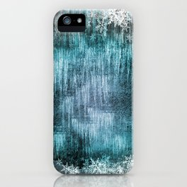Winter Pattern - Dark iPhone Case