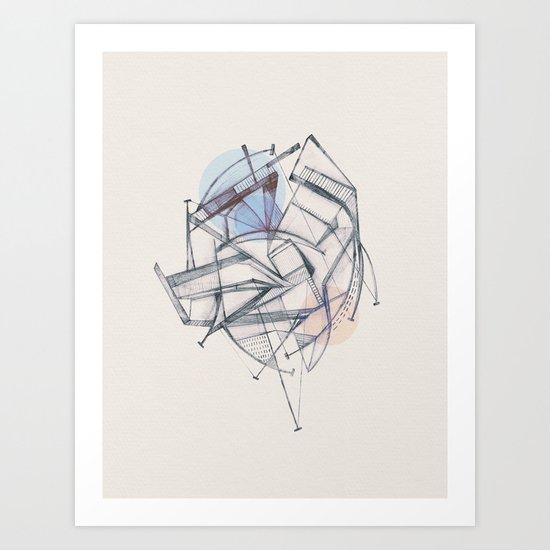 Structura II Art Print