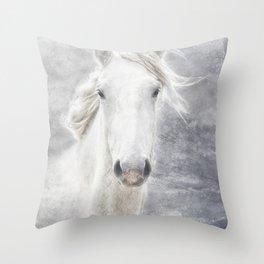cheval de la Camargue Throw Pillow