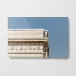 Intersecting Lines - Architecture Minimal Print Metal Print