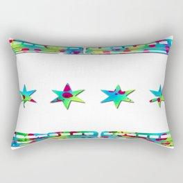 Wild CTA Flag Rectangular Pillow