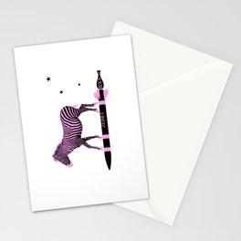 Zebra Rock It 3A Stationery Cards