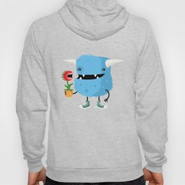 Monster and his pet plant carnivore Hoody