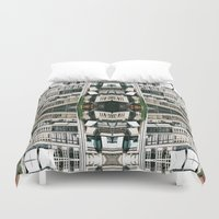 barcelona Duvet Covers featuring BARCELONA by Carlos Violante