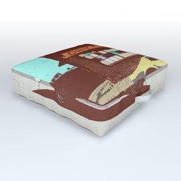 SUMMER CRUISER (WORK LIKE YOU DON'T NEED MONEY) Outdoor Floor Cushion