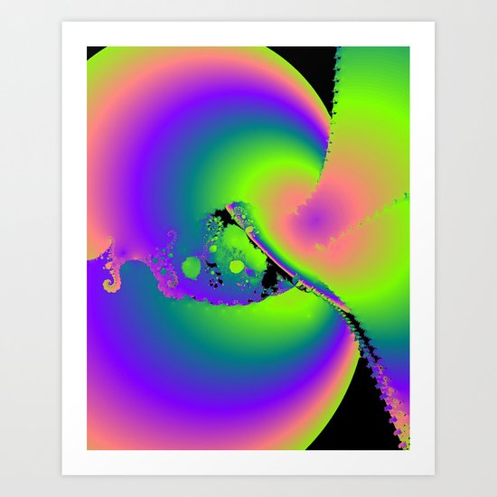 After Glow Art Print