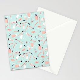 Faire La Toilette- Matin Stationery Cards