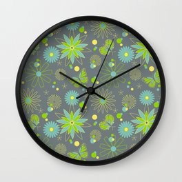Cocoon in the Garden Wall Clock
