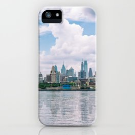 1513 - Philadelphia Cityscape from New Jersey iPhone Case