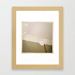 Paper Angel Framed Art Print