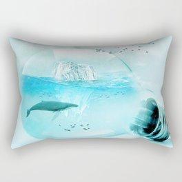 Below the Surface Rectangular Pillow