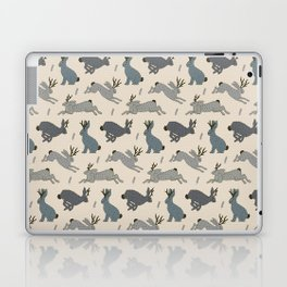 Jackalope Snow Parade Laptop & iPad Skin