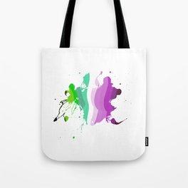 Colorful ink Tote Bag
