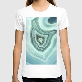 The world of gems - light blue agate T-shirt