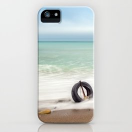 Minimalist seascape iPhone Case