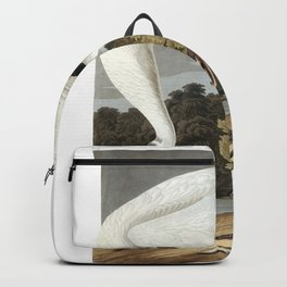 Hooping crane, Birds of America, Audubon Plate 226 Backpack