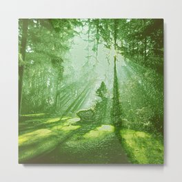 TREES Duvet Cover by Mackin & SO MUCH MORE Metal Print