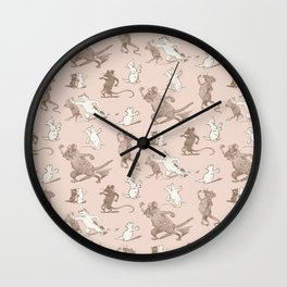 Kitty Cat's Revenge Wall Clock