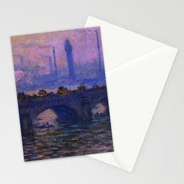 "Claude Monet ""Waterloo Bridge"" (1903) Stationery Cards"