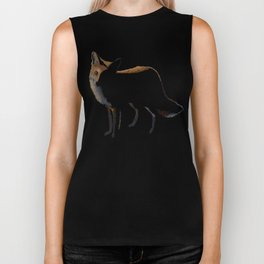 Fox in the Night Biker Tank