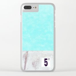 Care for a Dip? Clear iPhone Case