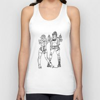 kendrawcandraw Tank Tops featuring Girl Gang by kendrawcandraw