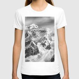 Denali Massif from the Air - Denali & Foraker T-shirt