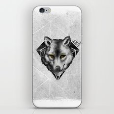The Bad Wolf iPhone & iPod Skin