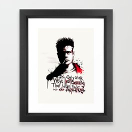 Lost Everything Framed Art Print