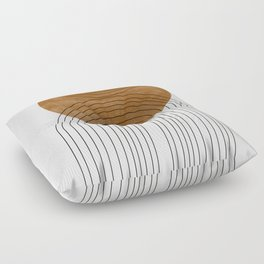 Abstract Flow Floor Pillow