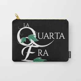LaQuartaEra_Black Carry-All Pouch