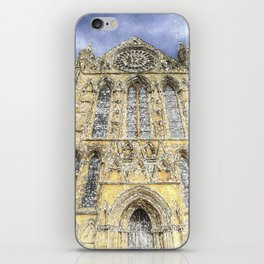 York Minster Cathedral Snow Art iPhone Skin